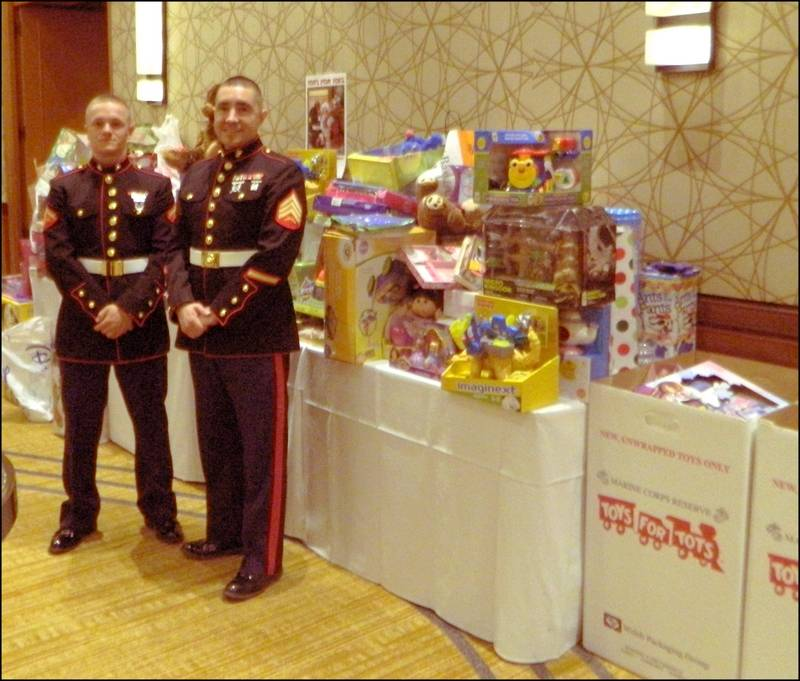 Toys For Tots Border : Waddle reed christmas event benefits children in need