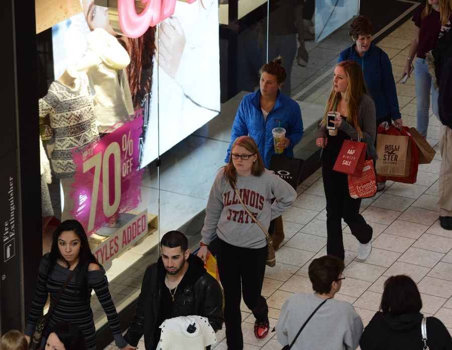 What suburban shoppers were out for Dec. 26 and why