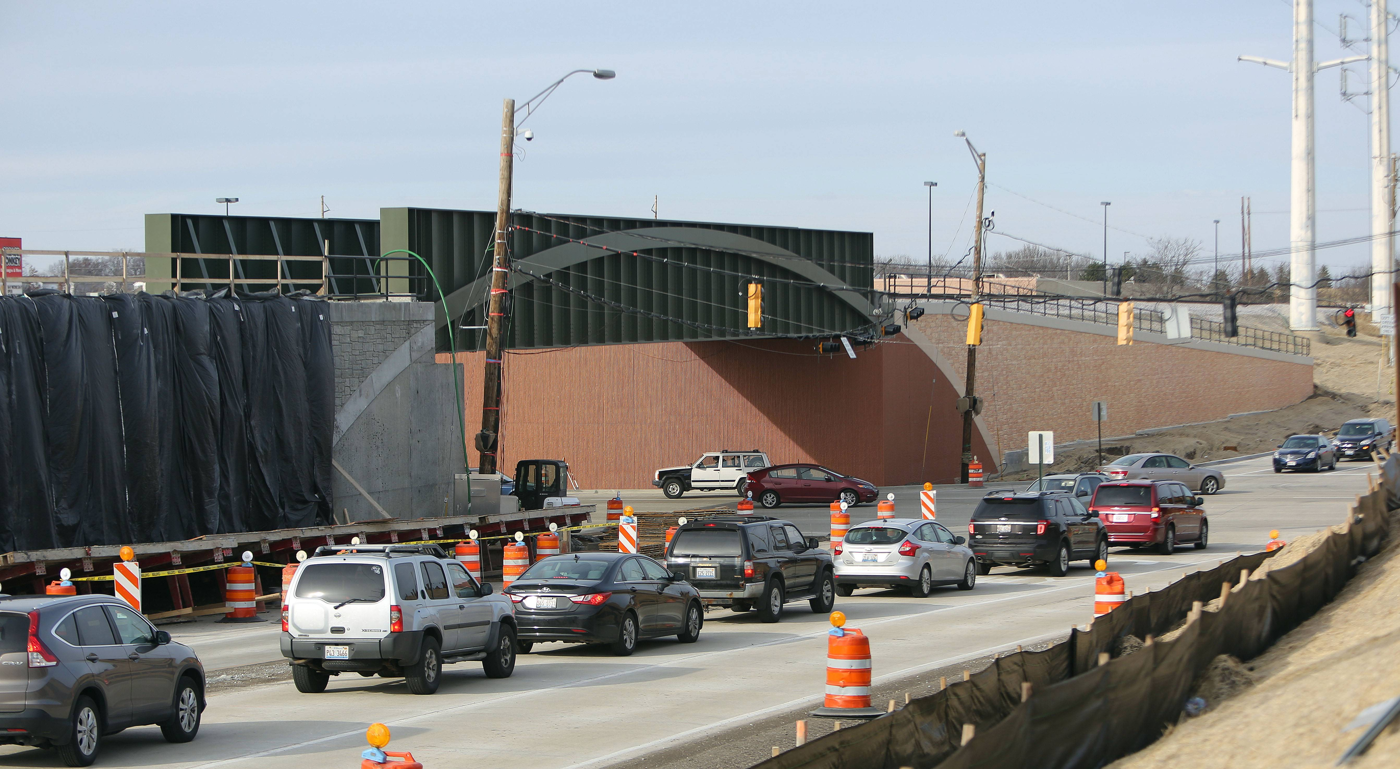 Rollins Road/Route 83 project 70 percent complete