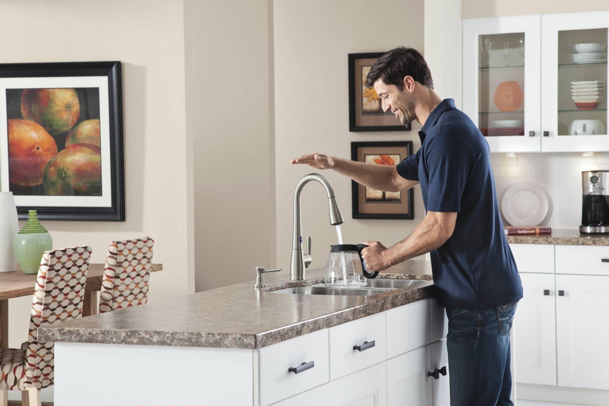 You can learn to prep food with an efficient new tool -- Moen's MotionSense faucets.