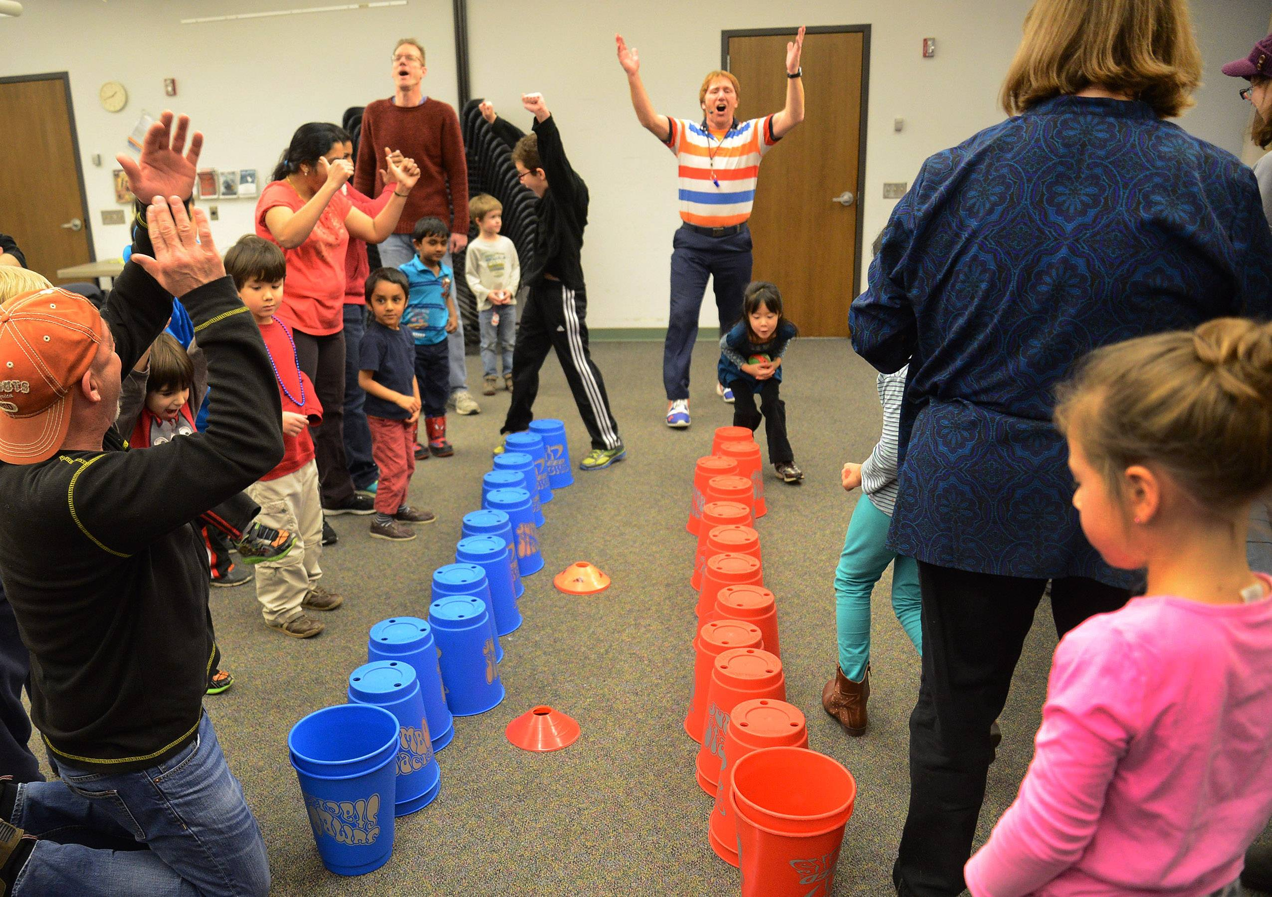 Kids, adults fight cabin fever with fitness challenge in Wheeling