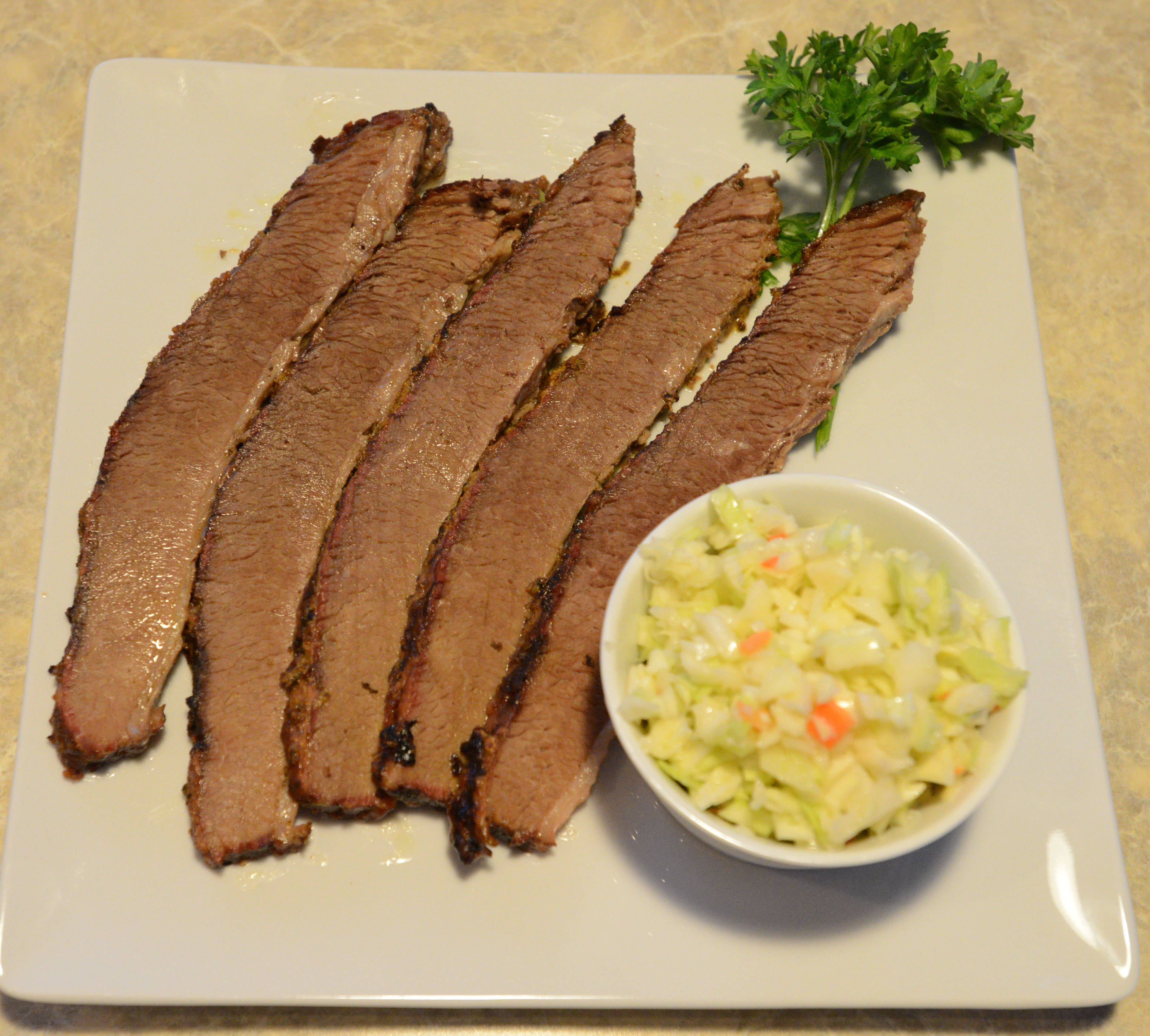 Brisket comes with a choice of sides at Park West Restaurant & Smokehouse in Villa Park.