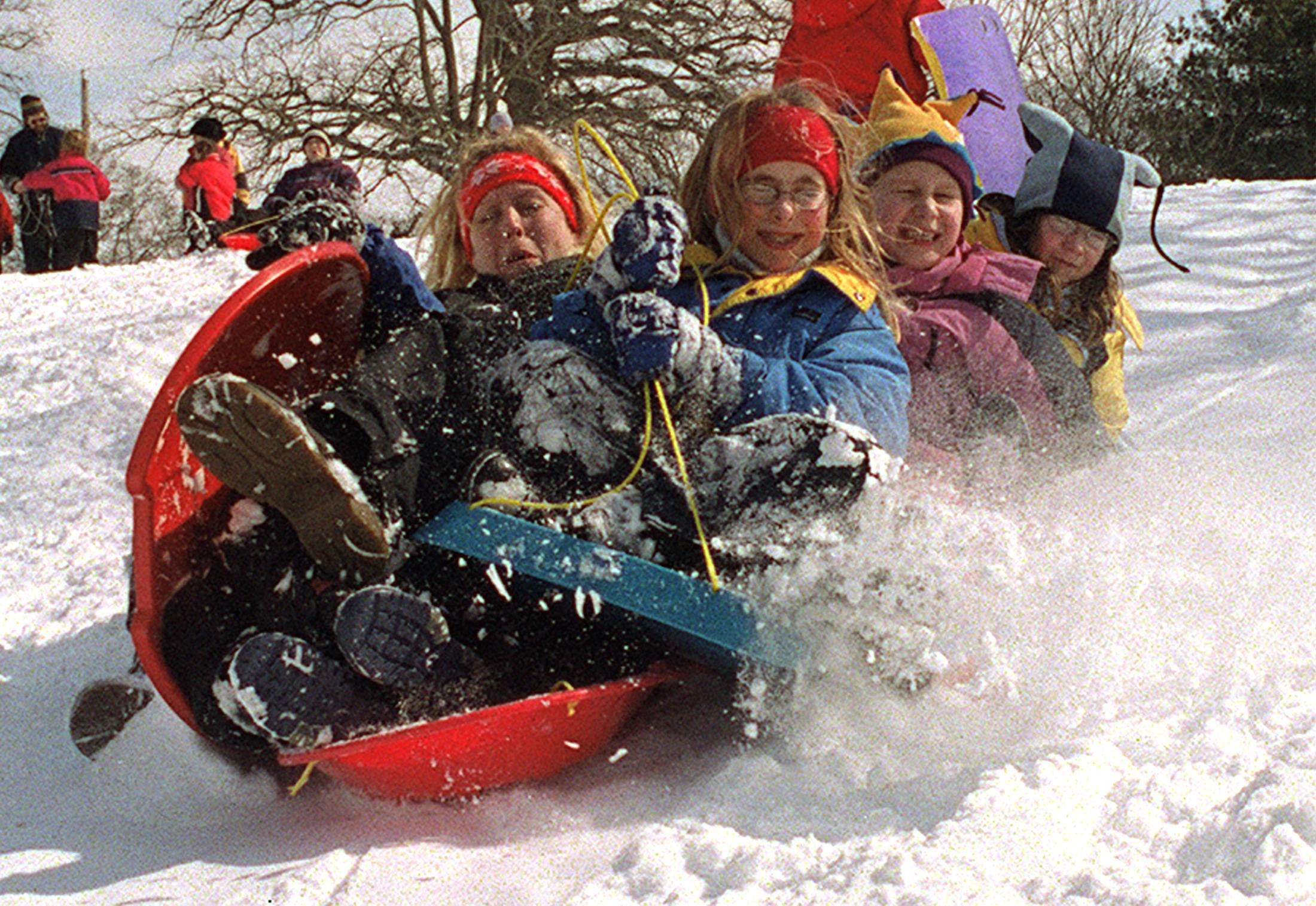 Suburbs abound with sledding, tubing, boarding options