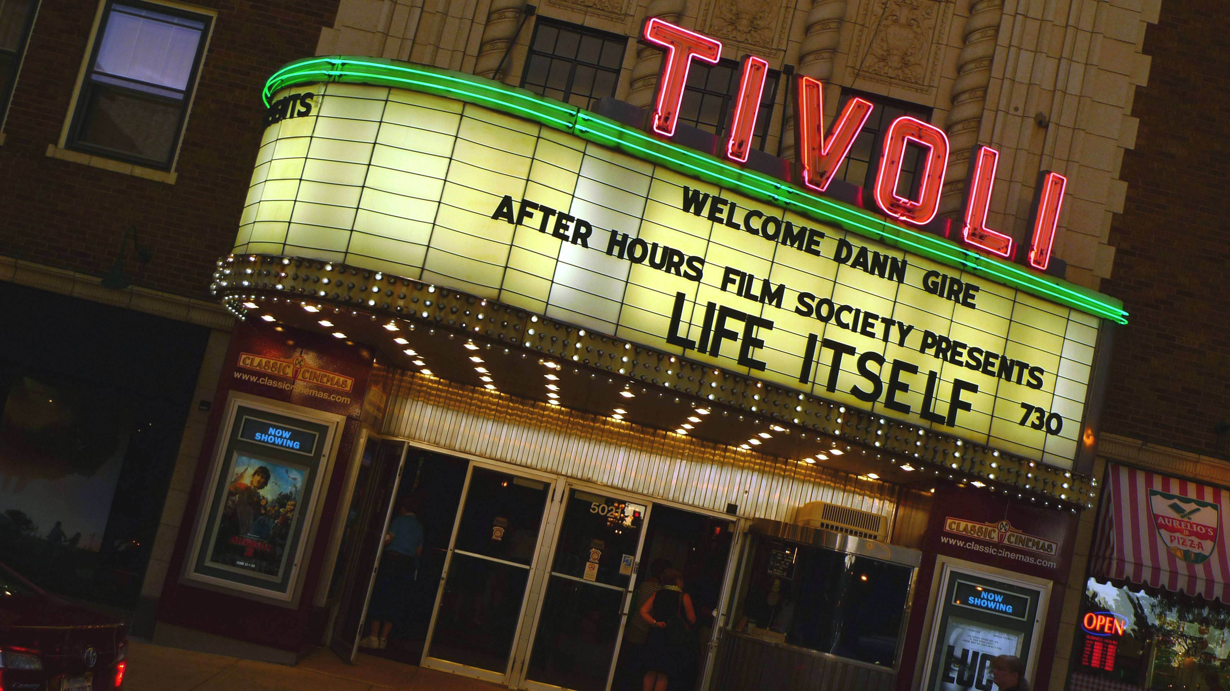 The Tivoli Theater was built in Downers Grove in 1938.