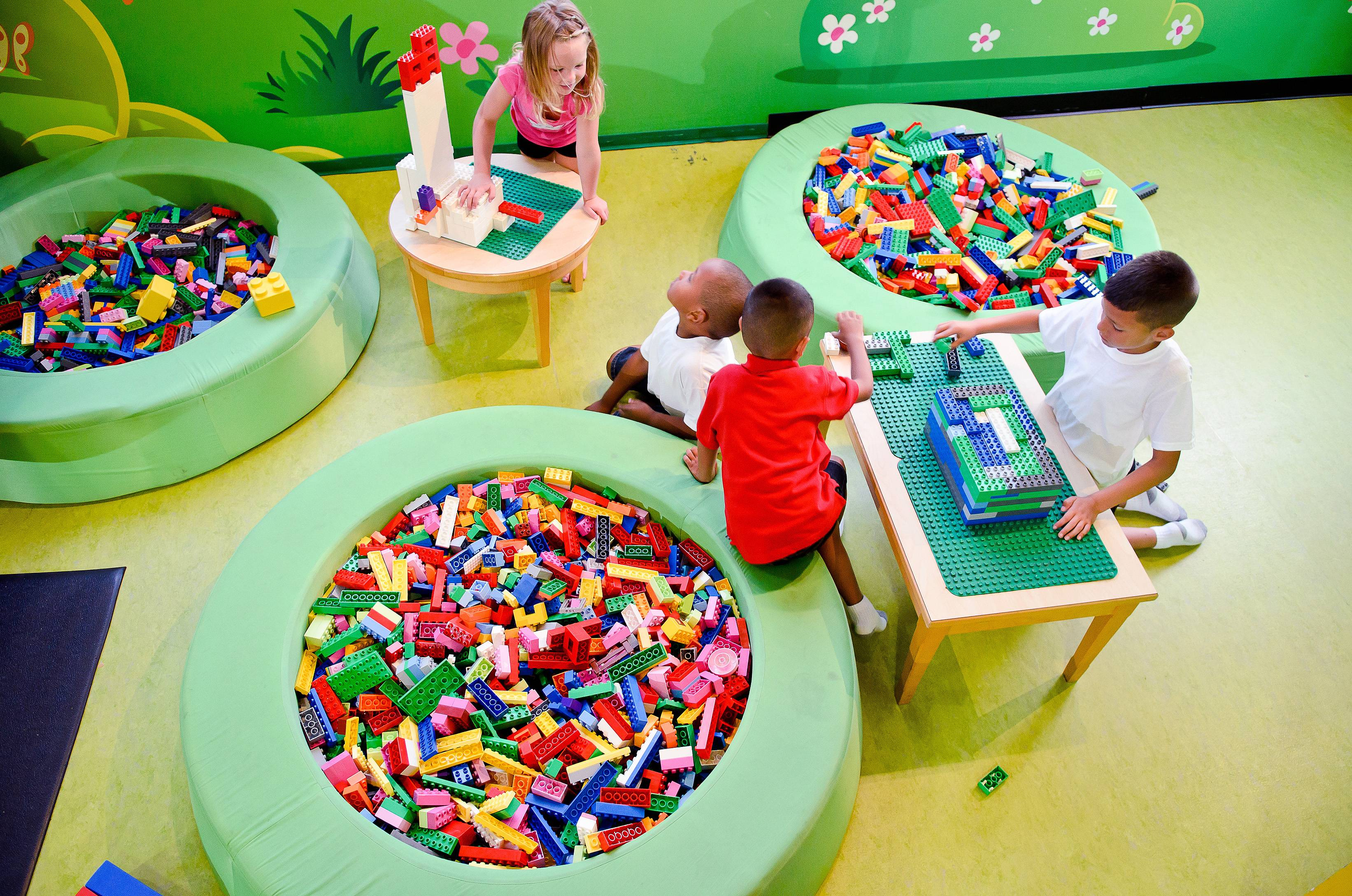 Children's imaginations know no bounds at Legoland Discover Center in Schaumburg.
