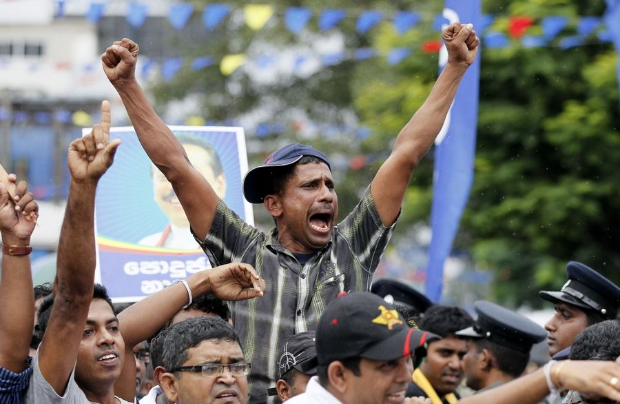Image result for election rallies in sri lanka