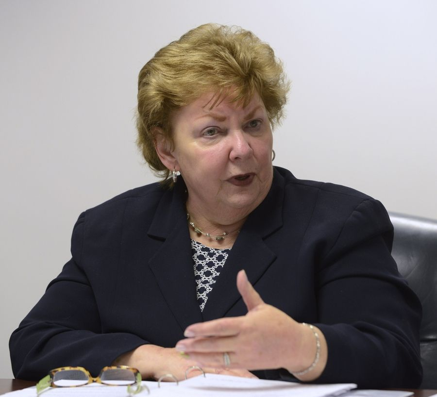 Jan Slattery, as director of the Office for the Protection of Children and Youth for the Archdiocese of Chicago, oversees a staff of 15 people responsible for responding to accusations of priest sex abuse, coordinating compliance checks and overseeing a victims assistance ministry.