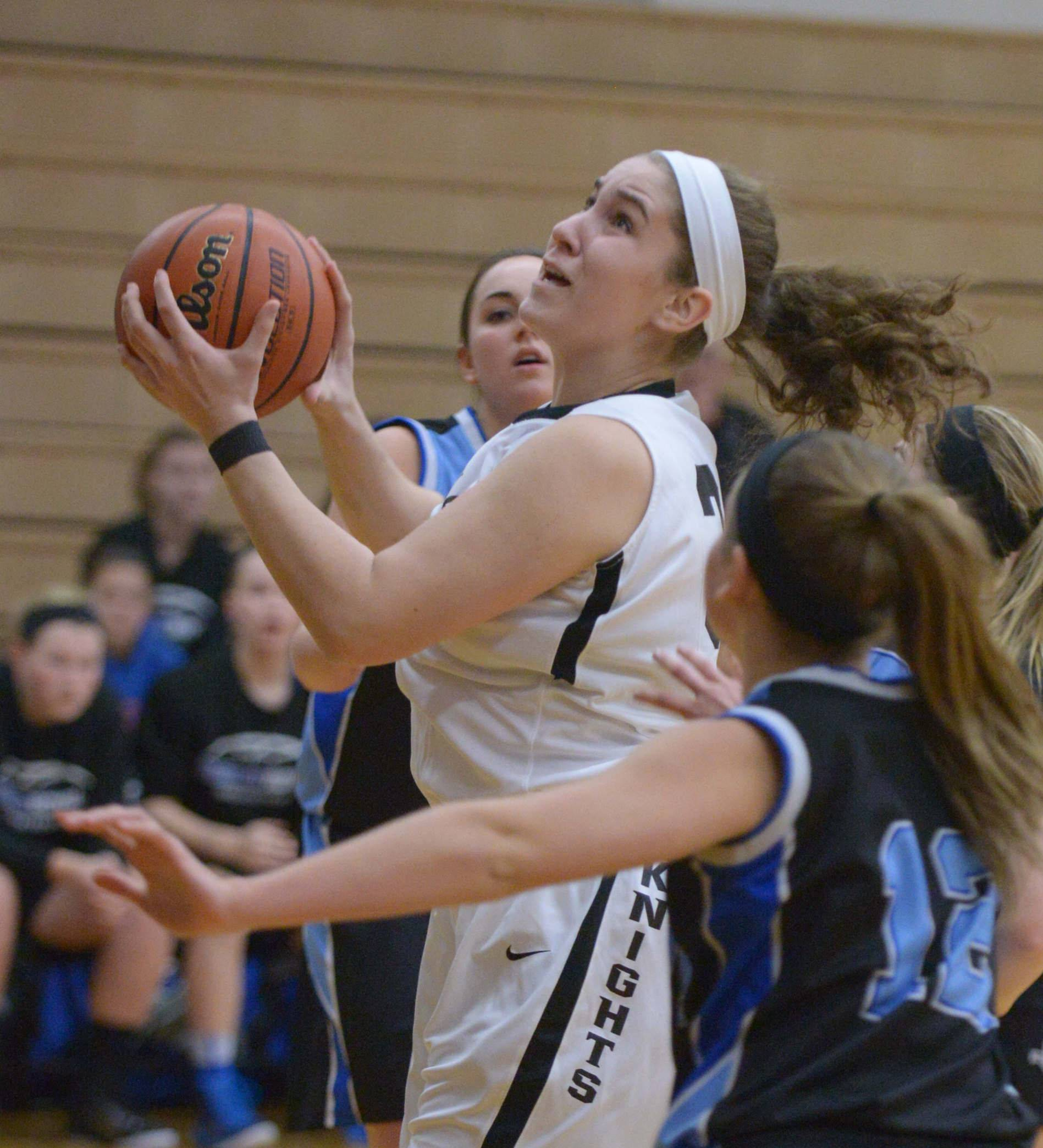 Images from the Kaneland vs. Rosary girls basketball game on Tuesday, Jan. 6 in Maple Park.