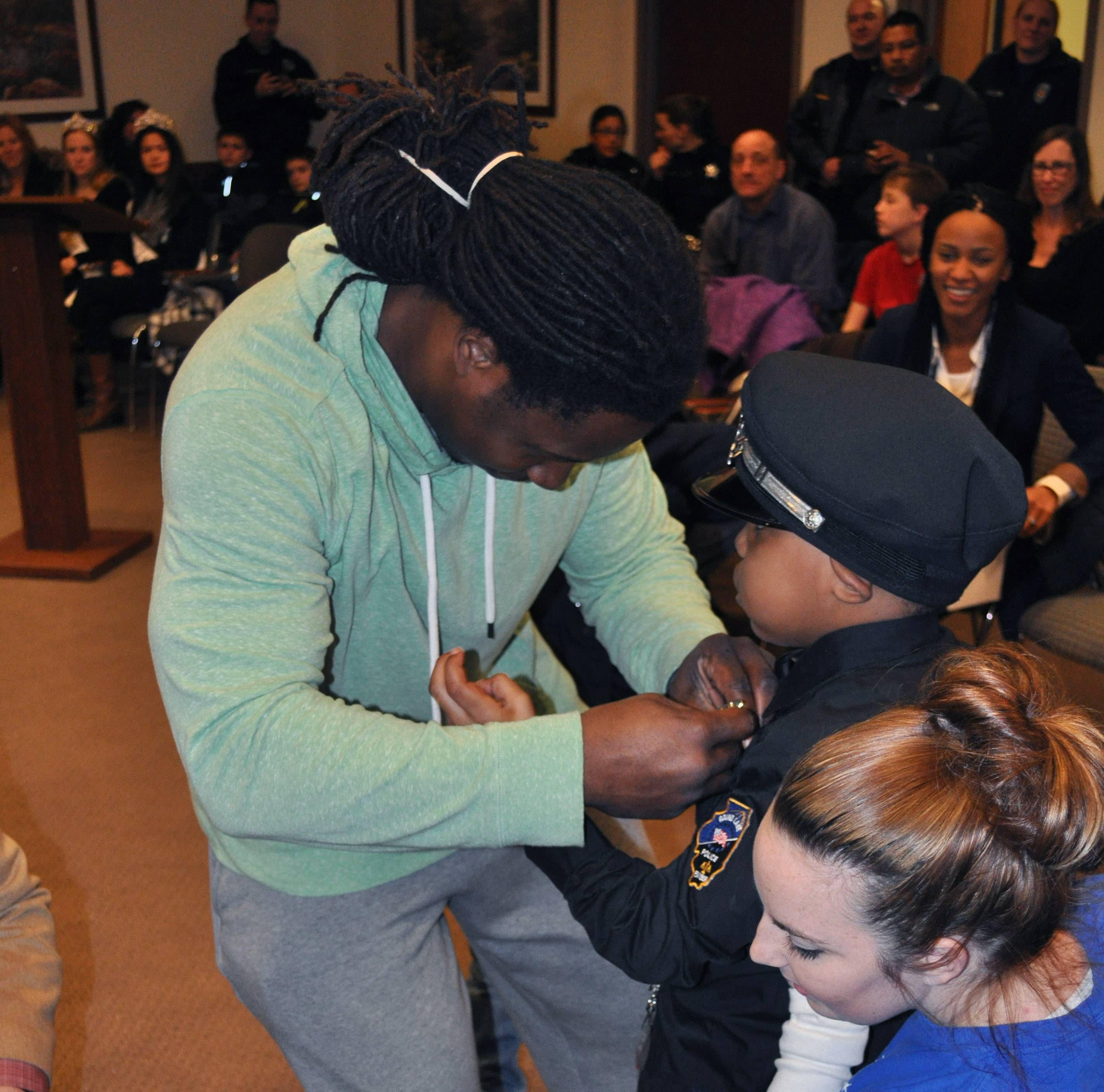 Round Lake fulfills boy's dream of becoming a police officer