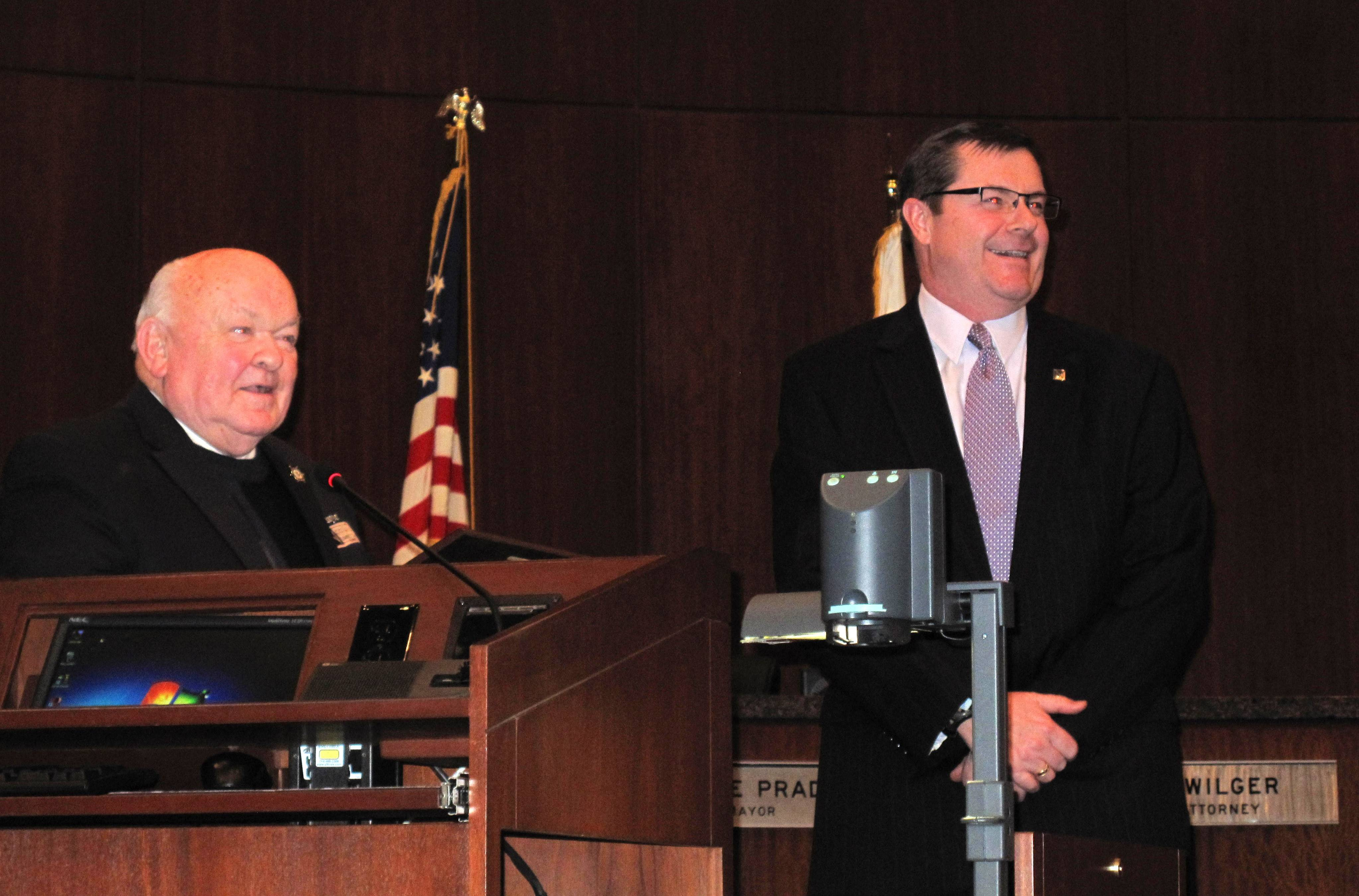 Naperville's Wehrli serves last council meeting