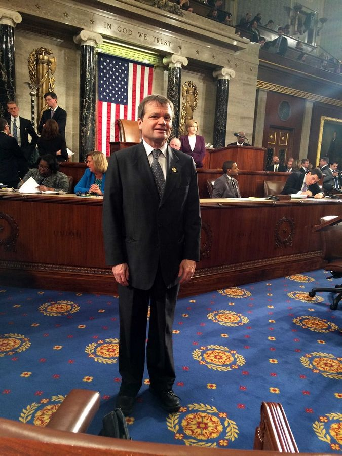 U.S. Rep. Mike Quigley was sworn in for a third full term in Congress Tuesday.