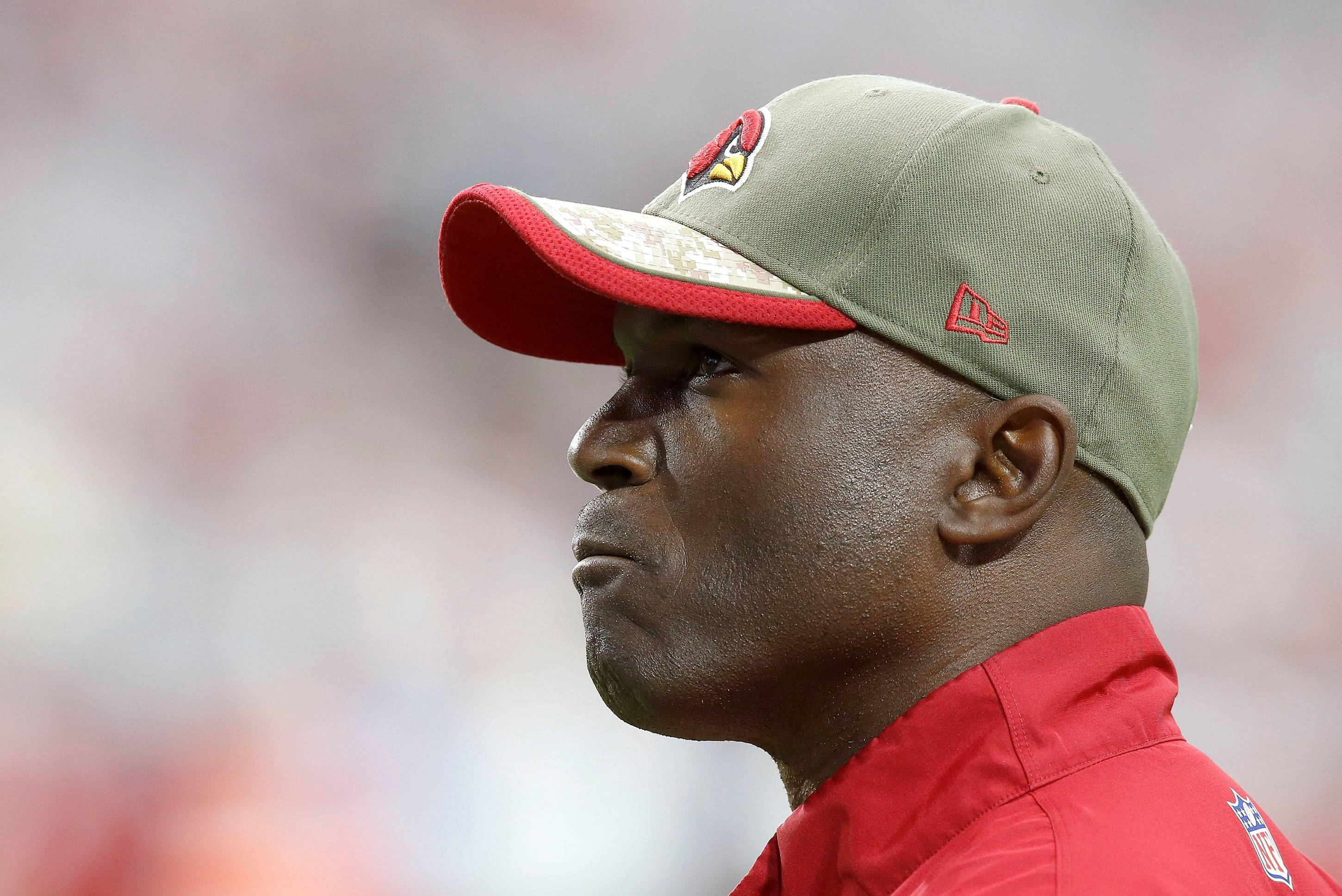 Todd Bowles, a candidate for the Bears' head coaching job, is the defensive coordinator for the Arizona Cardinals. He has also held NFL coaching positions with the Eagles, Jets, Browns, Cowboys and Dolphins.