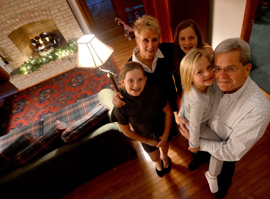 Patty and Kent Perry of Schaumburg are raising their grandchildren Mikayla, 9, Jaida, 11, and Nevaeh, 4, while their daughter, 37-year-old Tracy Perry-Belz, struggles with heroin addiction.