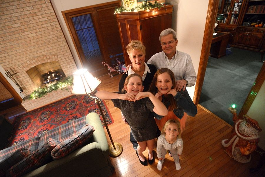 In the same home where their mother, a heroin user, grew up, 9-year-old Mikayla, 11-year-old Jaida and 4-year-old Nevaeh are being raised by their grandparents, Patty and Kent Perry of Schaumburg.