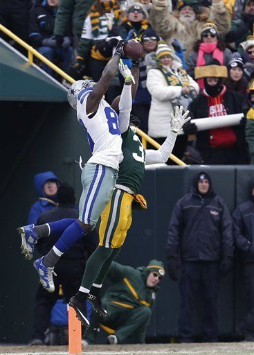 Dez Bryant S Catch Overturned Cowboys Fall 26 21 To Packers