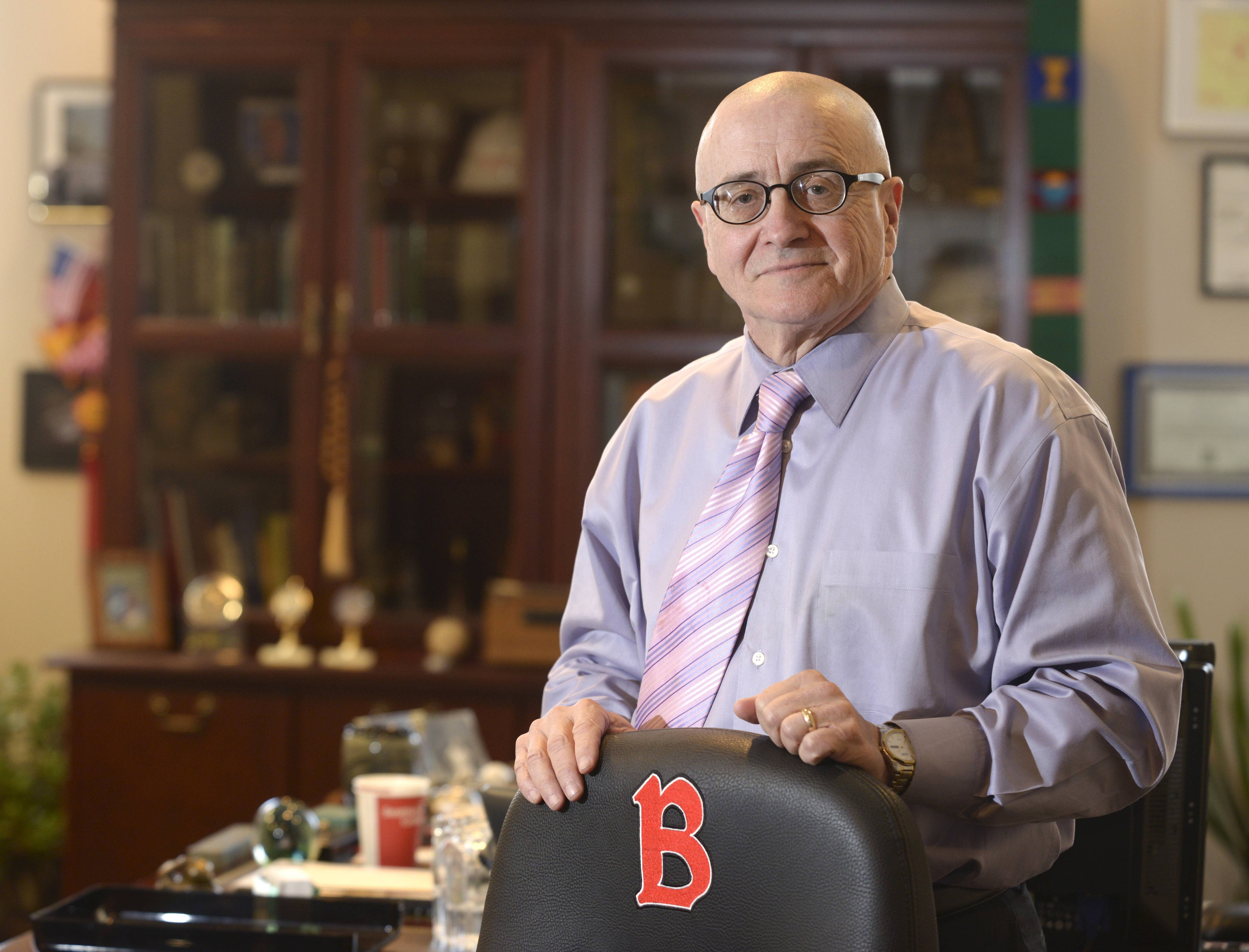"William J. Carroll, president of Benedictine University in Lisle, said he plans to step down at the end of December. ""I could do more, but a lot has been done, and it's time to pass it on,"" he said."