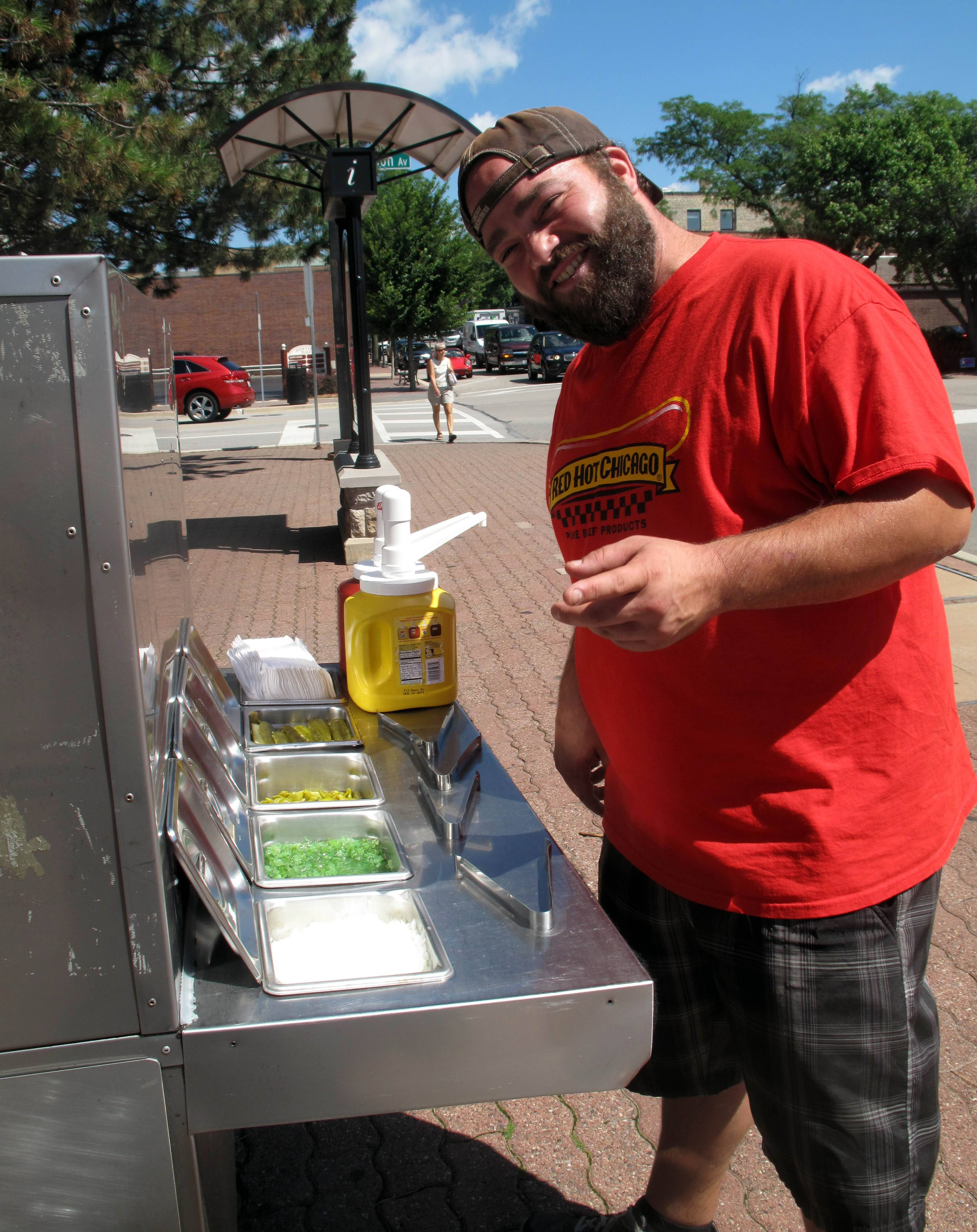 How many food carts are too many in downtown Naperville?