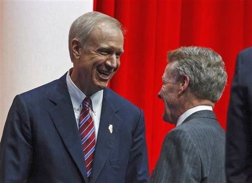 Former GOP governors: Mutual respect key with Madigan