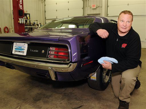 Jim's Hemi 'Cuda comes back home, 4 decades later