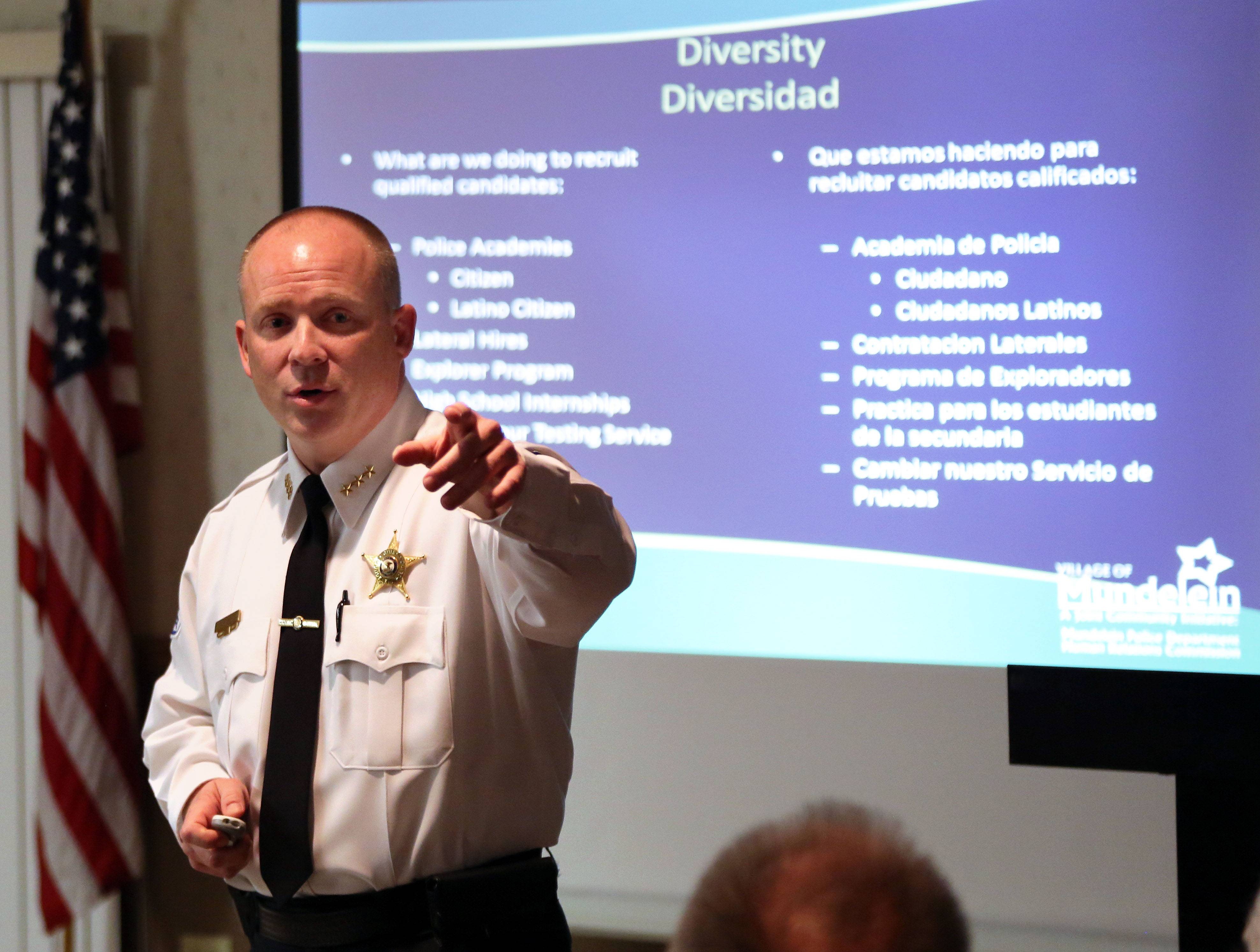 Mundelein chief: Wait before reaching, know the police