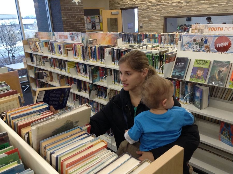 Libertyville resident Deborah Carlberg was excited about a plan to expand parking at the Aspen Drive Library in Vernon Hills.