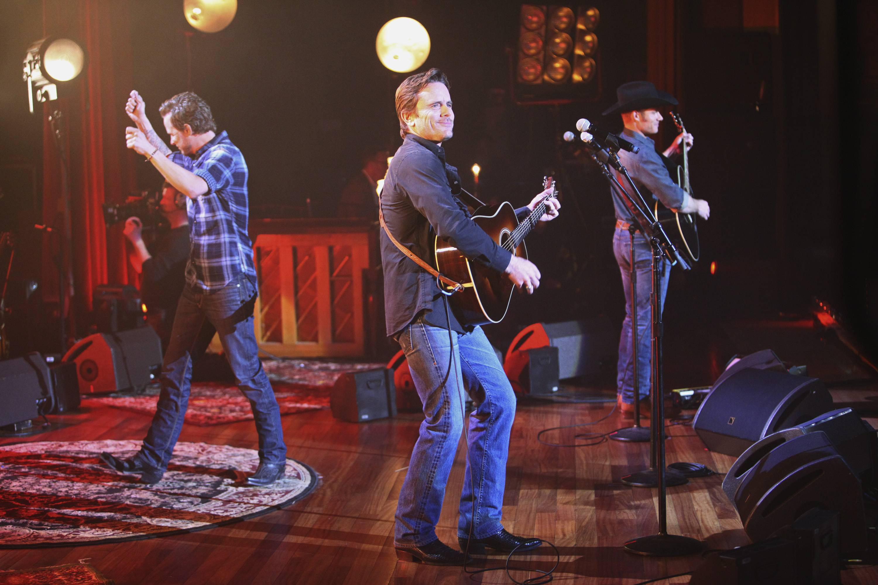"""Nashville"" star Charles Esten, center, will appear at the Arcada Theatre in St. Charles March 28."