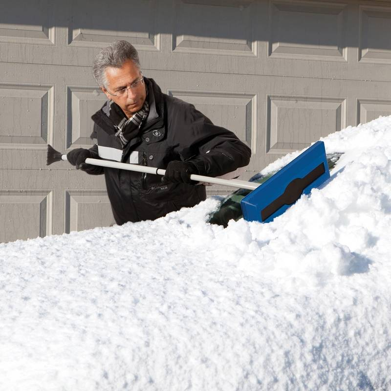 New Tools Can Take The Backache Out Of Snow Removal