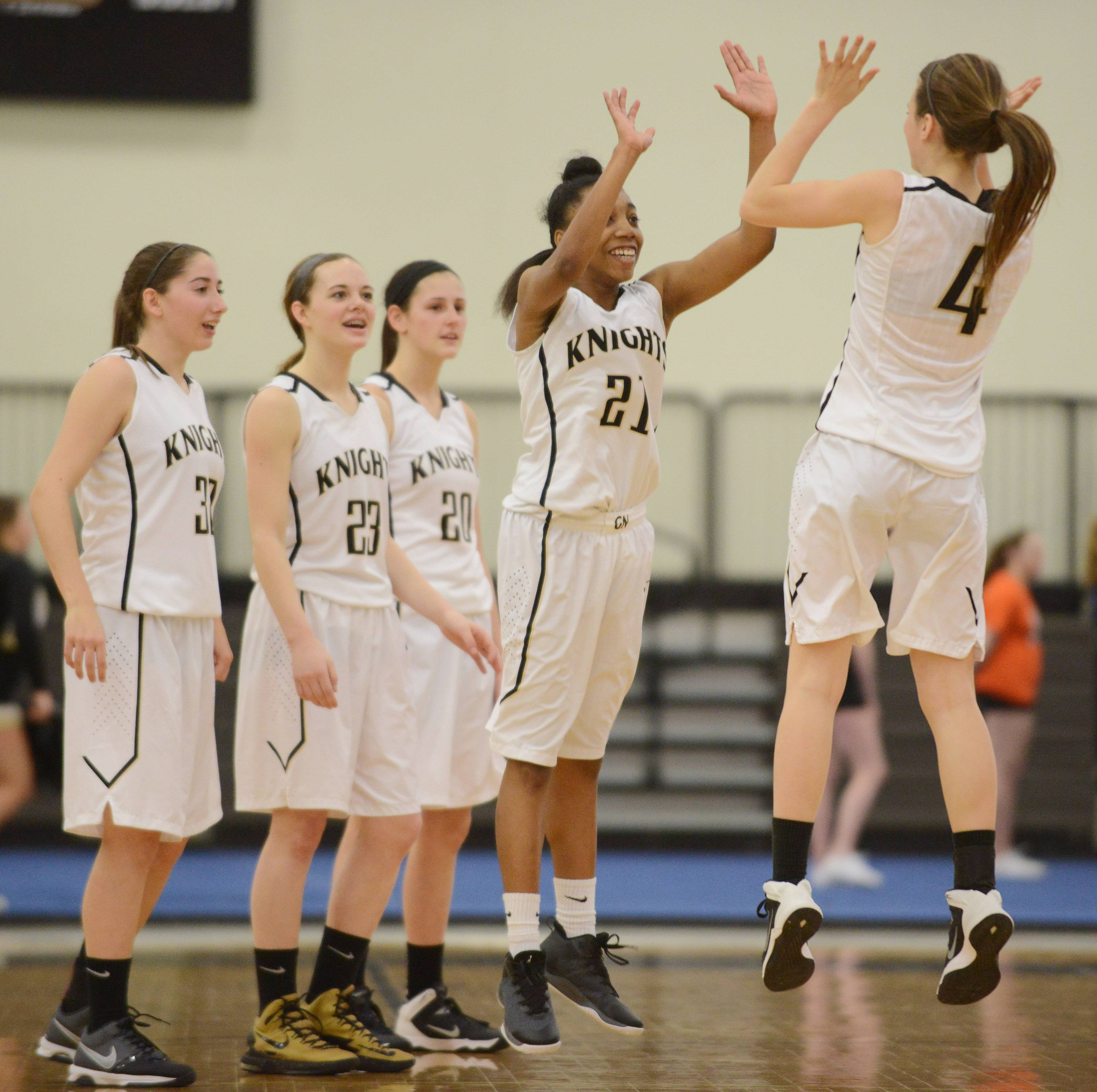 Images from the Grayslake North vs. Woodstock girls basketball game on Saturday, Jan. 24 in Grayslake.