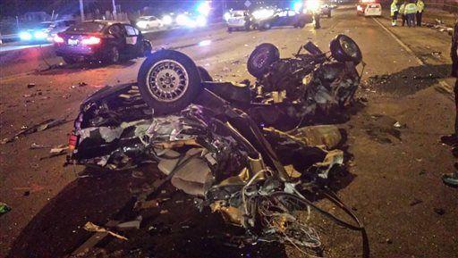 Wrong-way crash on Interstate 94 kills 1, injures 5
