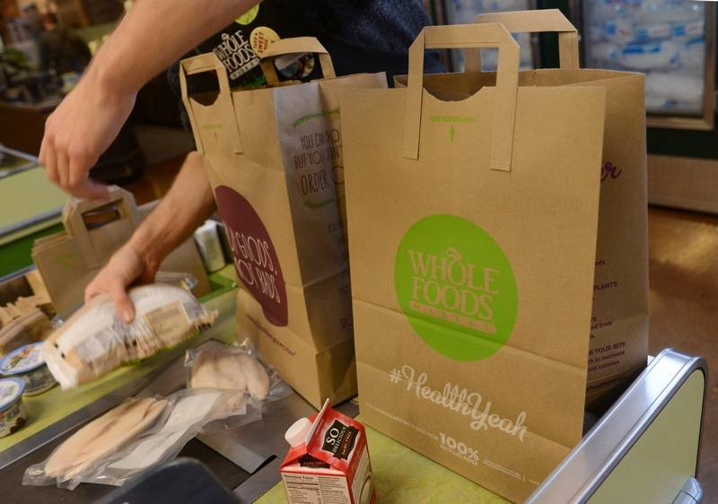 Whole Foods Bags Paper Bag