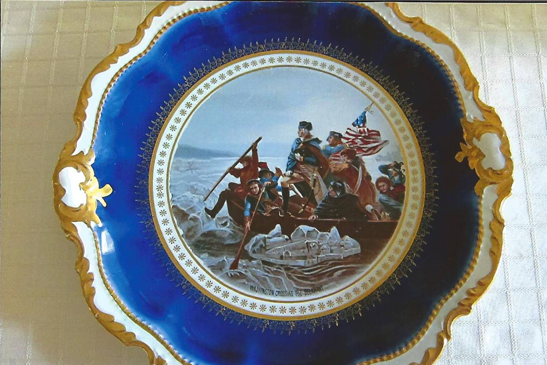 Empire China was made by Steubenville Pottery in Ohio from 1879 to 1959.