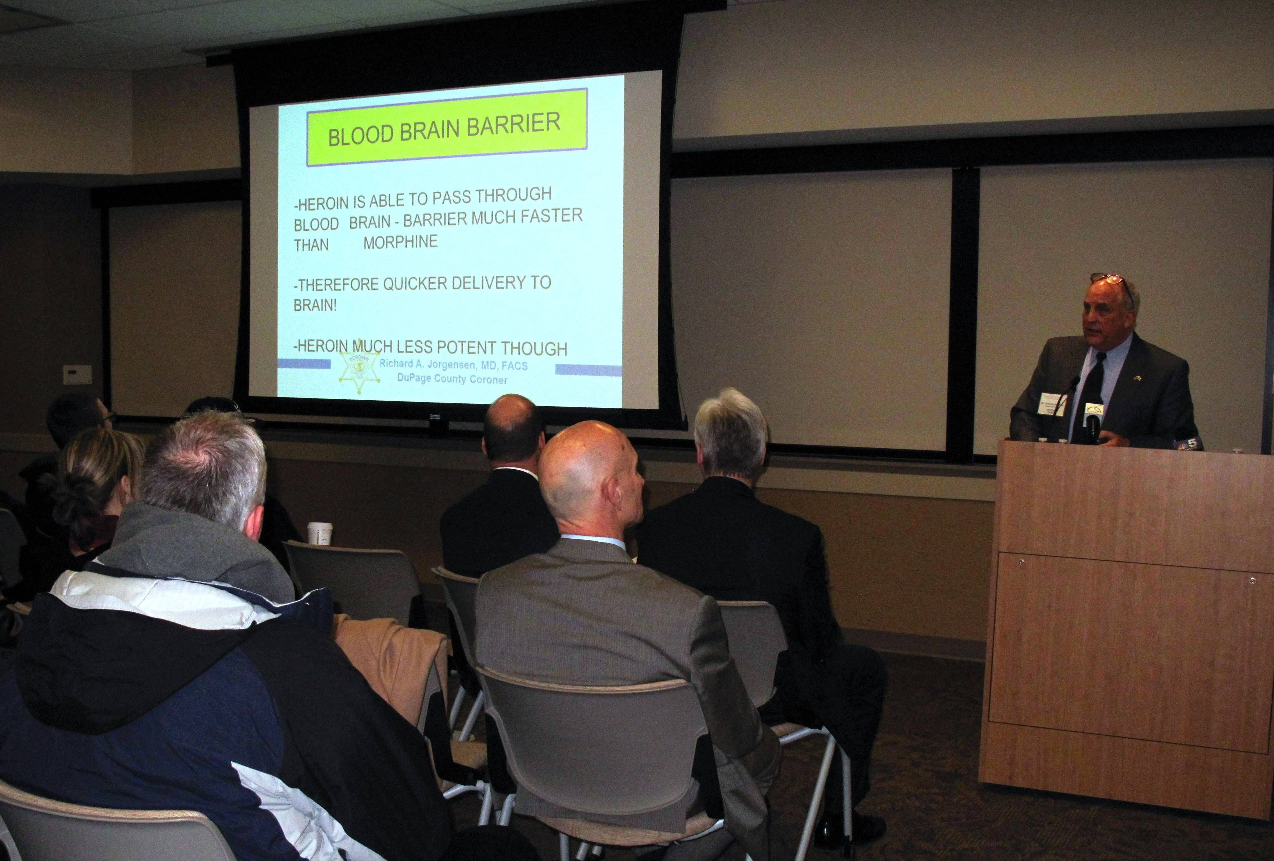 Naperville forum examines 'what's behind' heroin epidemic