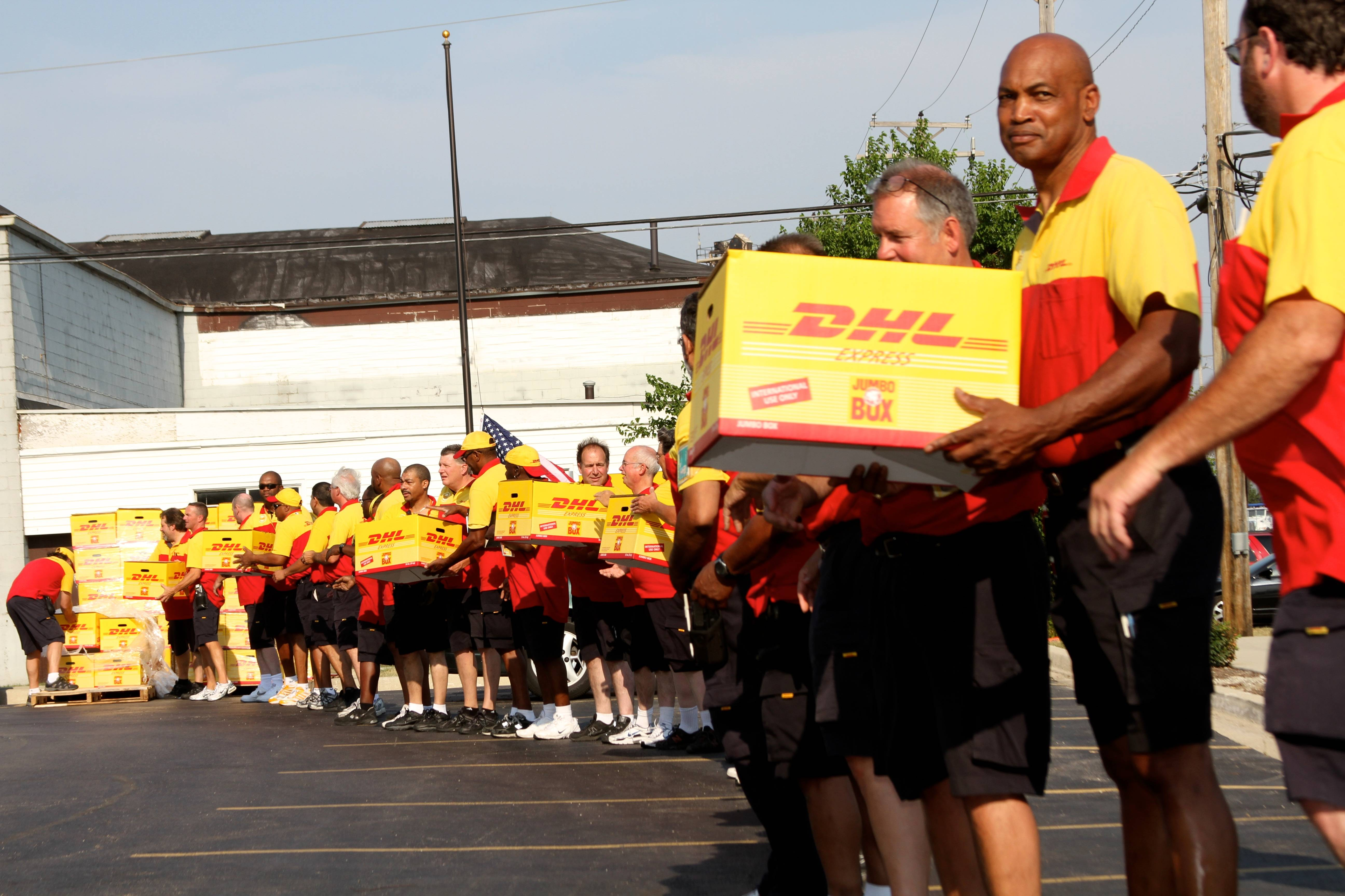 DHL Express is donating the resources of its global express shipping network to send enough pizza to feed every U.S. soldier stationed in the country.