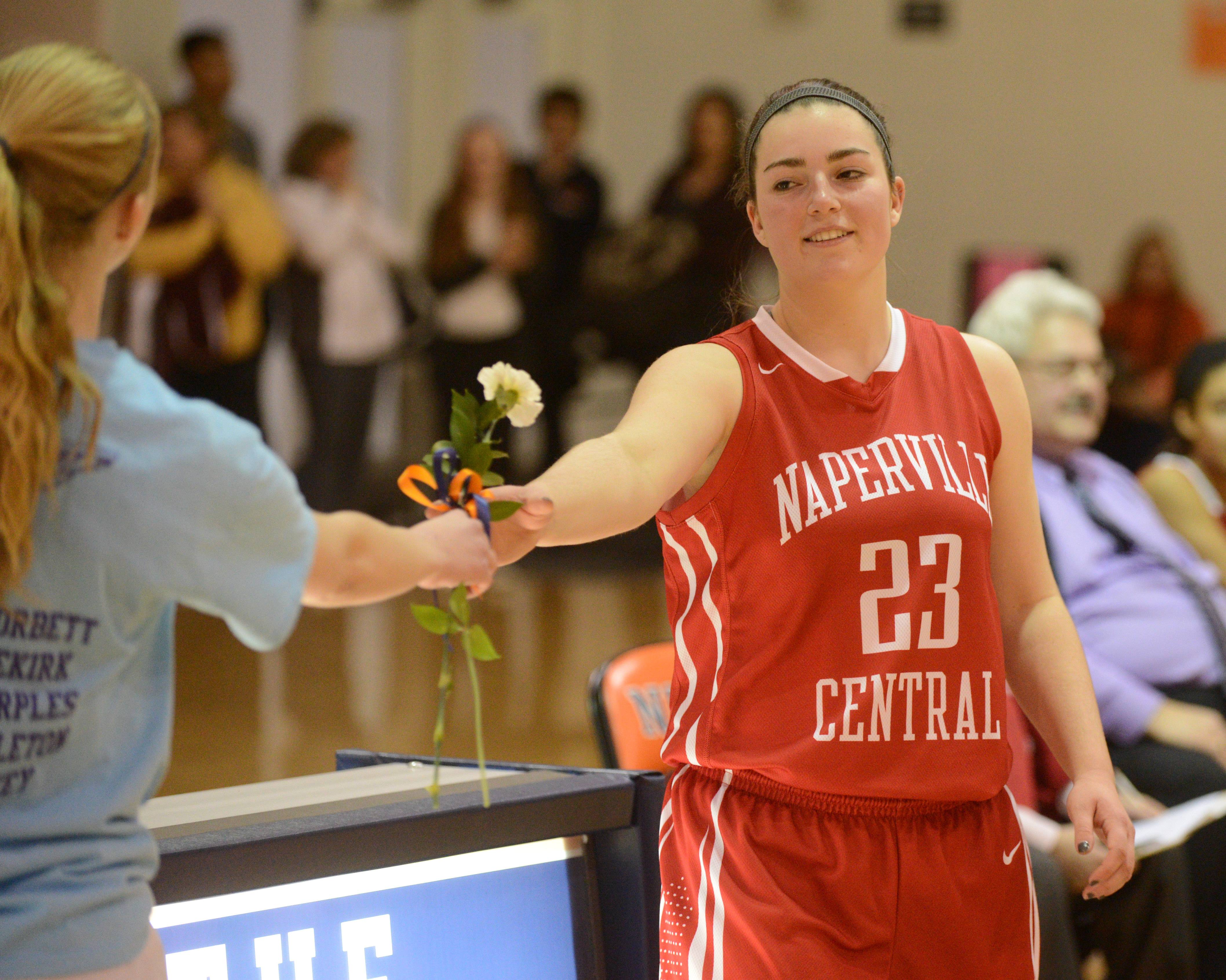 Images from the Naperville Central vs. Naperville North girls basketball game on Thursday, January 29.