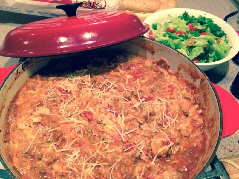 Deconstructed Lasagna Recipe Lasagna Get Deconstructed