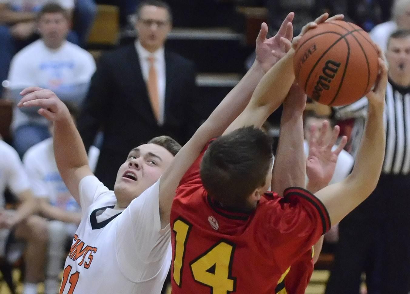 Images: St. Charles East vs. Batavia, boys basketball