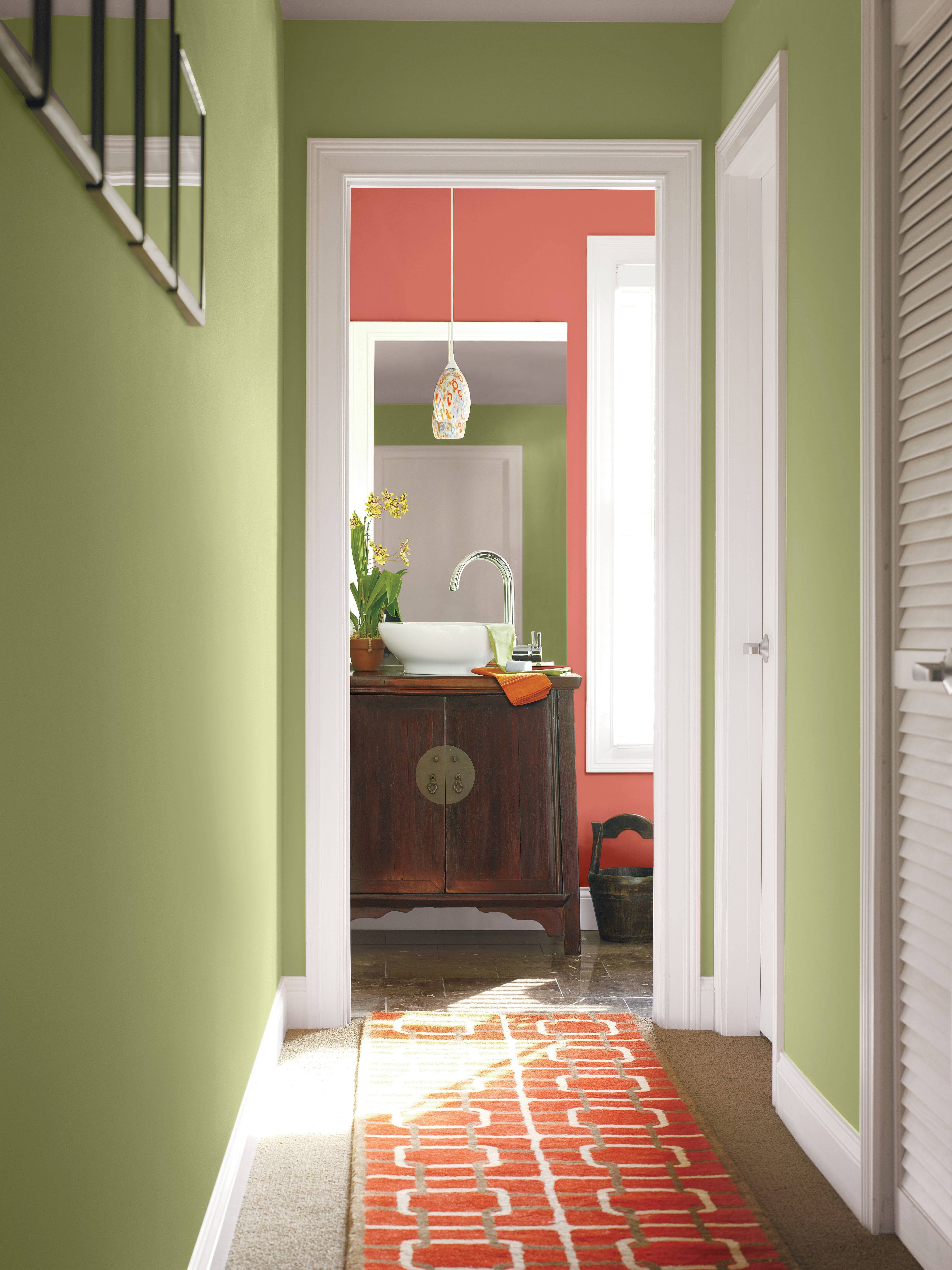 Olive green, rust and plum complement both Marsala and Coral Reef, which recently were names 2015 colors of the year.