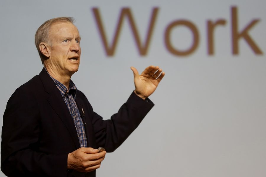 "Illinois Gov. Bruce Rauner has been going out of his way to portray himself as ""compassionate"" in how he will deal with the state's financial troubles. Rauner delivers his first State of the State address Wednesday in Springfield."
