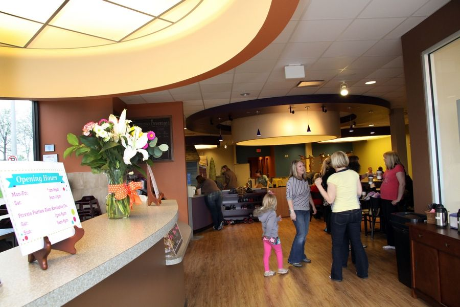 The coffee shop and playspace at Café N Play in Naperville is closing at the end of March.
