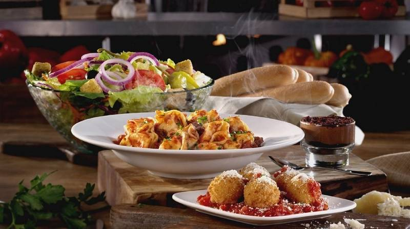 Dining events four courses for at olive garden - Olive garden crispy risotto bites ...
