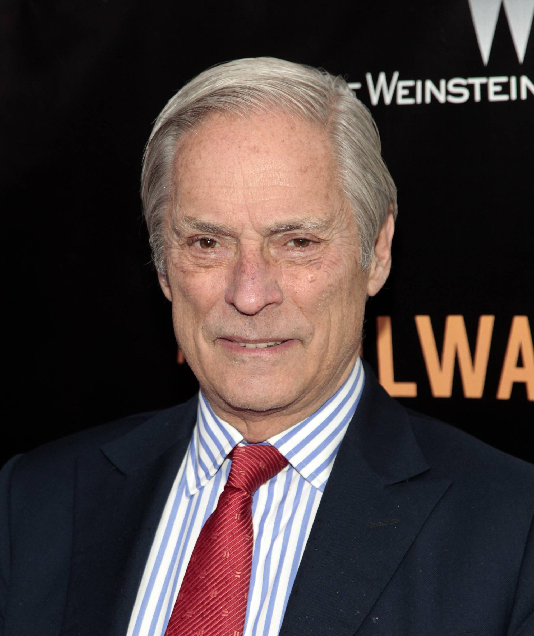 "Bob Simon of ""60 Minutes,"" attends the New York premiere of ""The Railway Man"" in New York. CBS says Simon was killed in a car crash on Wednesday in Manhattan. Police say a town car in which he was a passenger hit another car."