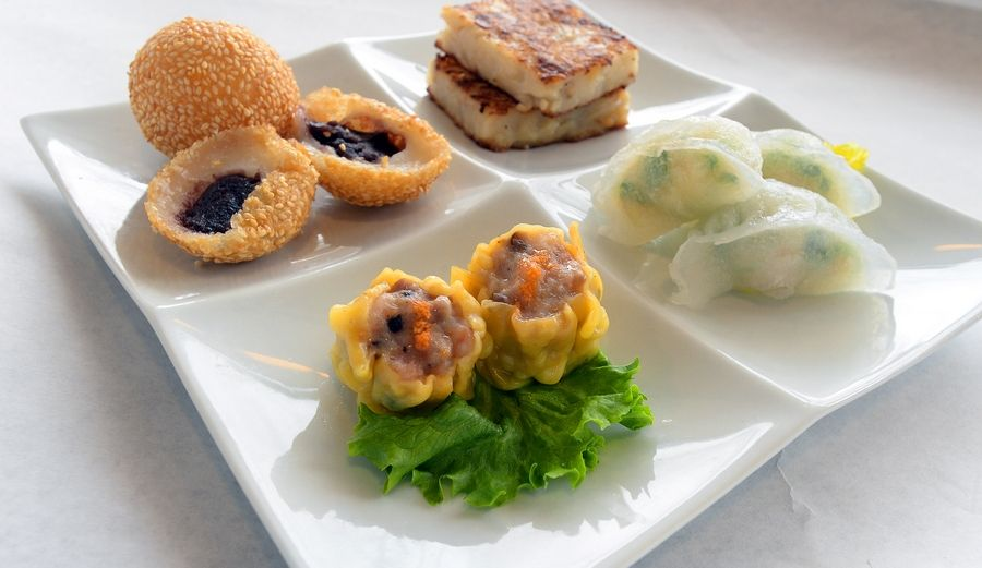 Bistro Chen offers dim sum brunch on the weekends and has a dim sum sampler available on its dinner menu all week.