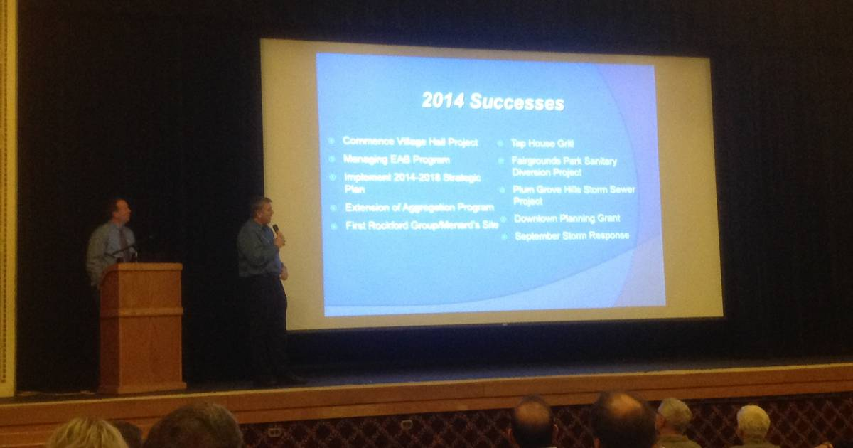 Palatine Chamber hosts State of the Village Update