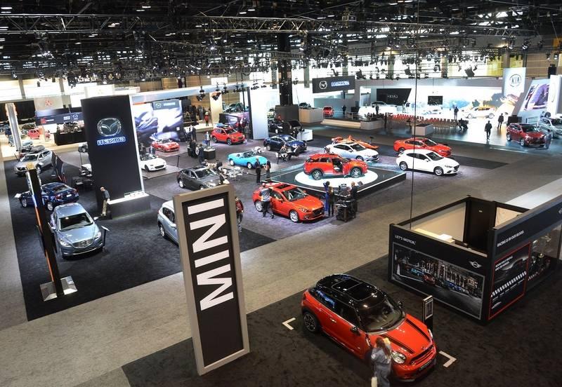 Images Chicago Auto Show - Mccormick place car show