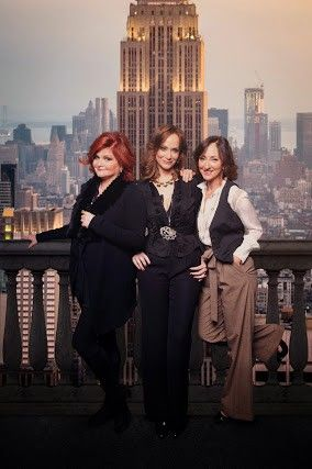 "Faith Prince, left, Christine Sherrill and Carmen Cusack play three women who turn the tables on their philandering husbands in ""First Wives Club,"" the Broadway-bound musical adaptation of the 1996 film. It premieres in Chicago this month."
