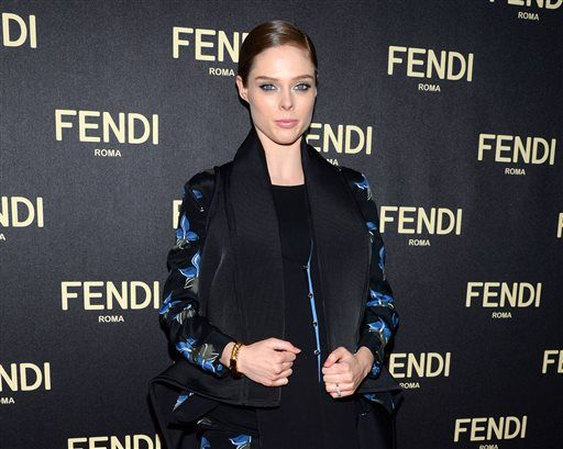 Coco Rocha attends Fendi's New York Flagship Boutique opening celebration on Friday, Feb. 13, 2015, in New York. (Photo by Evan Agostini/Invision/AP)