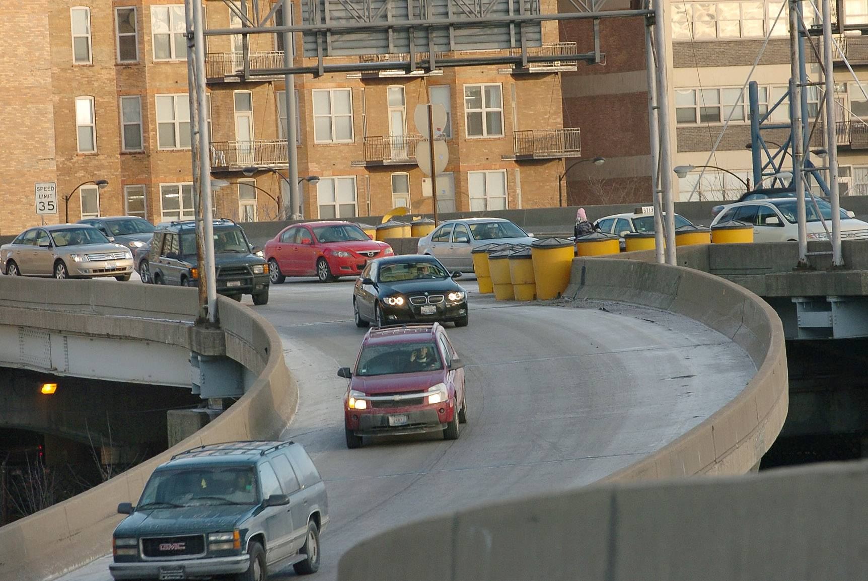 Expect backups on the Jane Byrne Interchange this spring and summer.