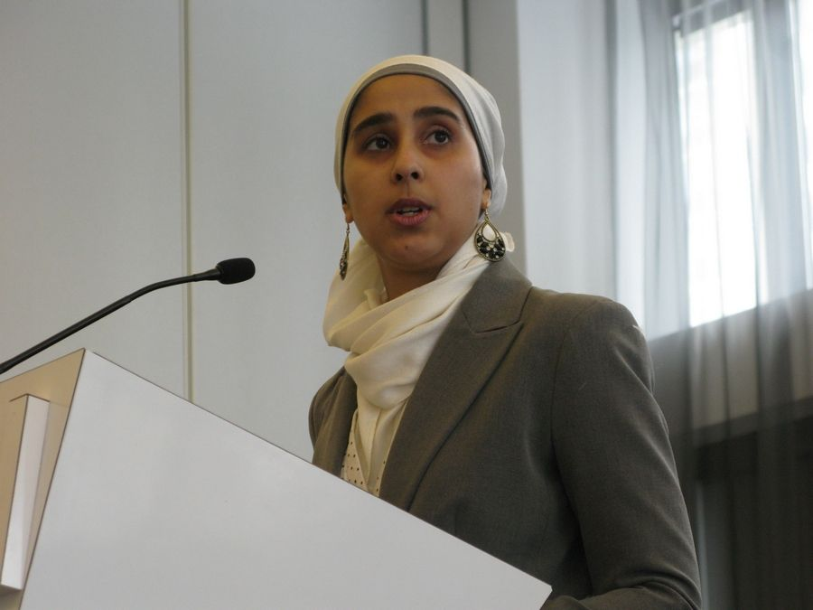 Nadiah Mohajir, co-founder and executive director of HEART Women & Girls, has been working with women who claim they were sexually abused for decades by a former imam and head of the Islamic Institute of Education in Elgin.