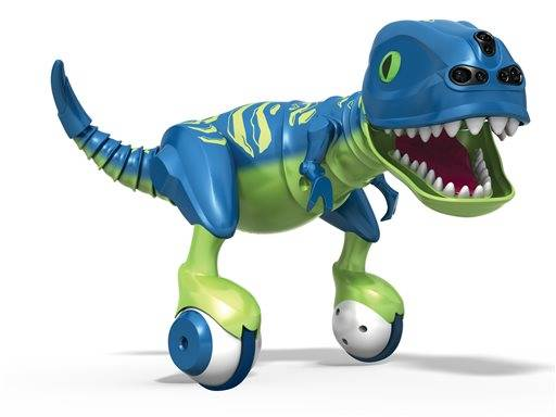 Spin Master's Zoomer Dino was awarded Toy of the Year at Toy Fair in New York. A remote controlled dinosaur, you can train him to follow you, dance, chase and roar. The toy will be available in Fall 2015.