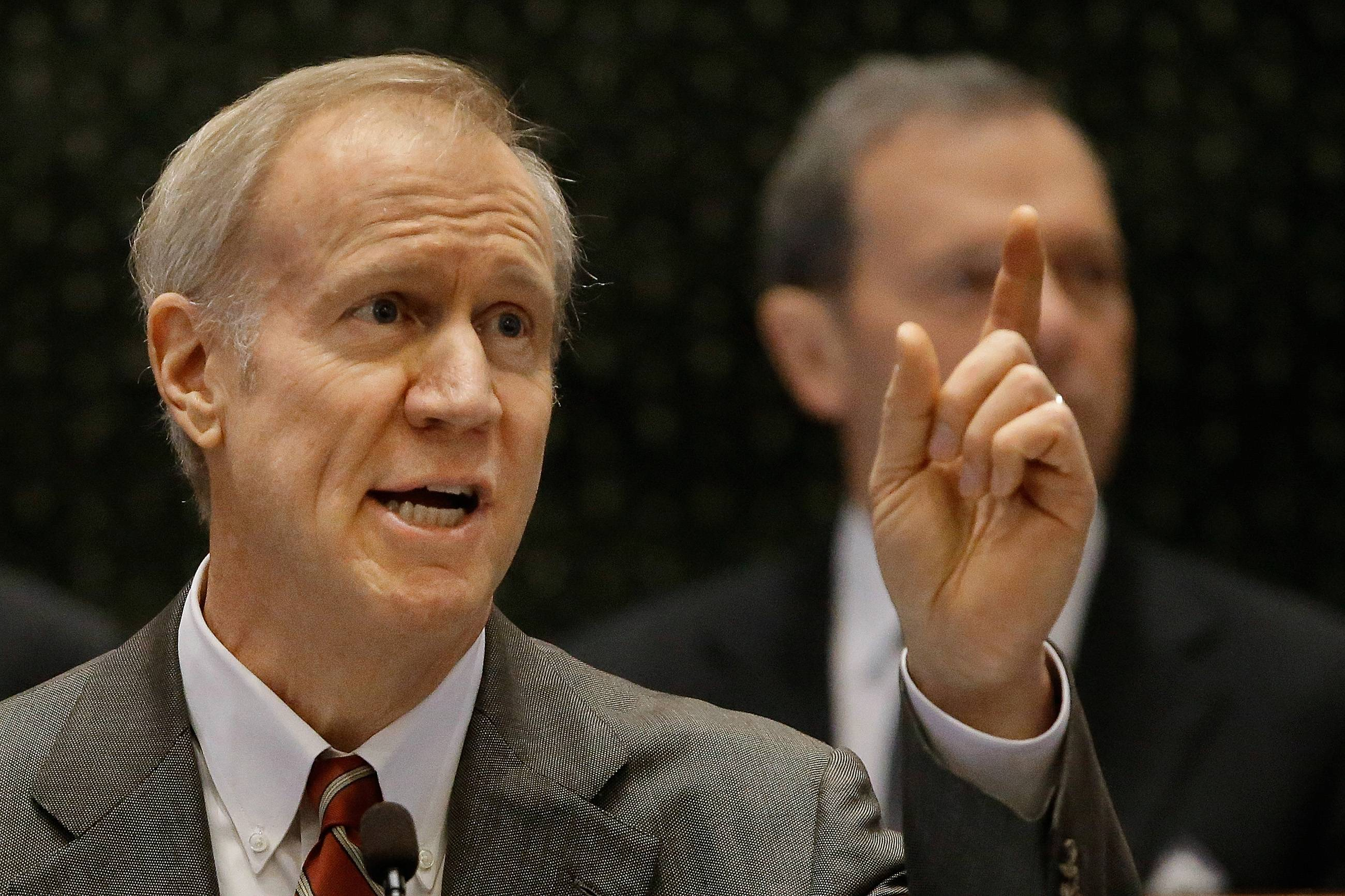 Rauner: Cut suburbs' income tax revenue in half